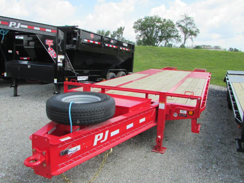2020 PJ Trailers 25 ft Low Profile Equipment Trailer