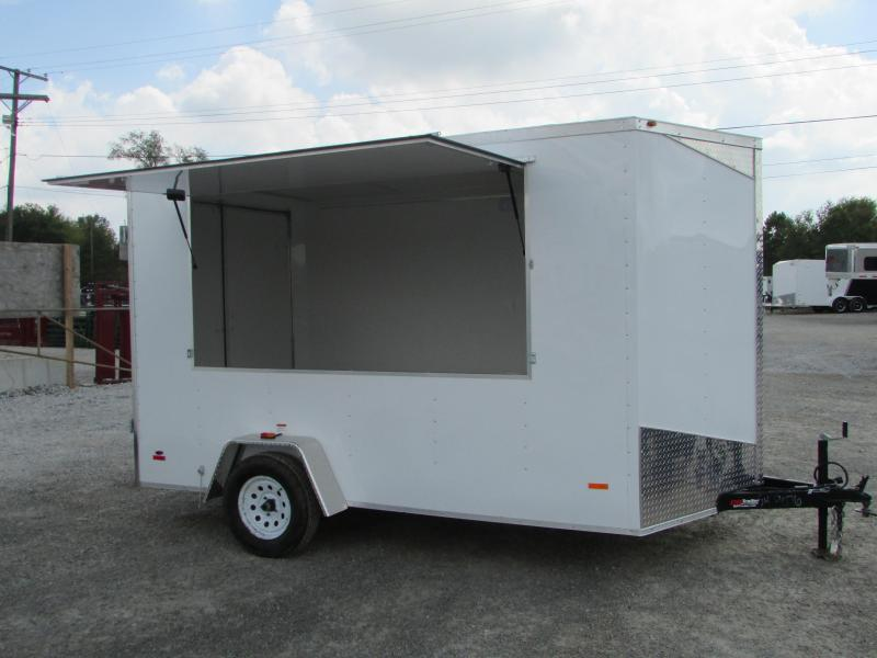2019 RC Trailers 7 X 12 Vending / Concession Trailer