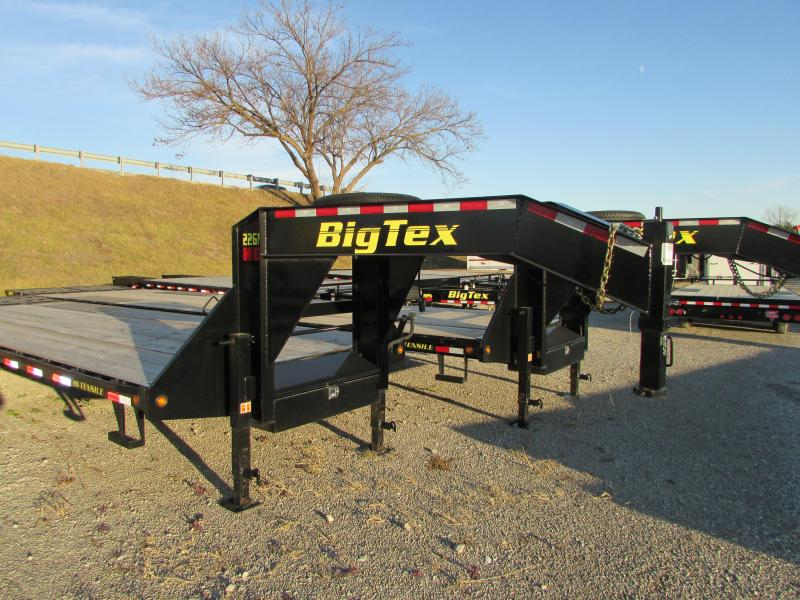 2017 Big Tex Trailers 35 Flatbed Gooseneck Trailer