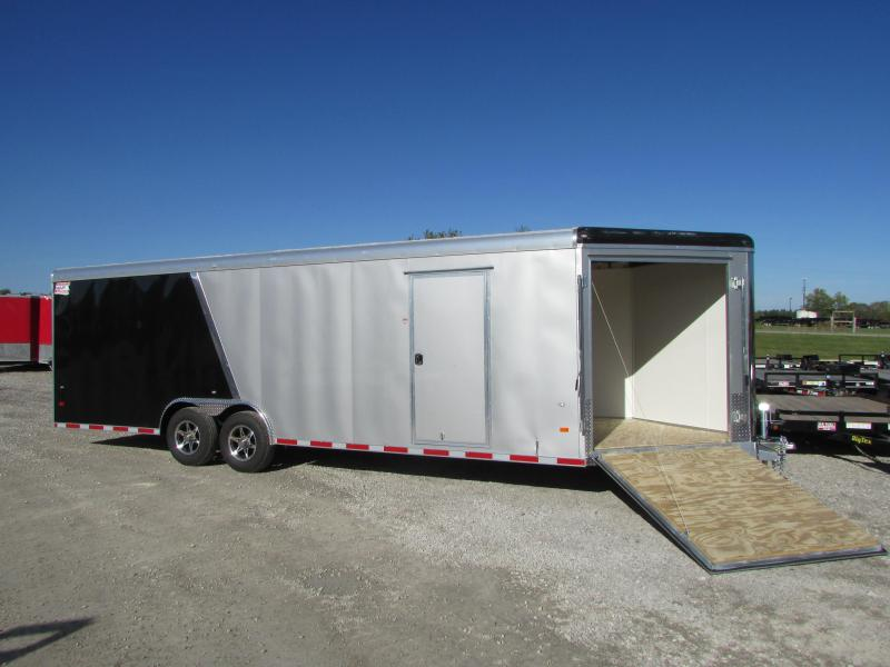 2019 American Hauler 26' Enclosed Snowmobile Carhauler Trailer