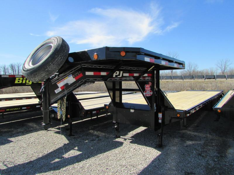 2018 PJ Trailers 35ft Gooseneck Flatbed Trailer