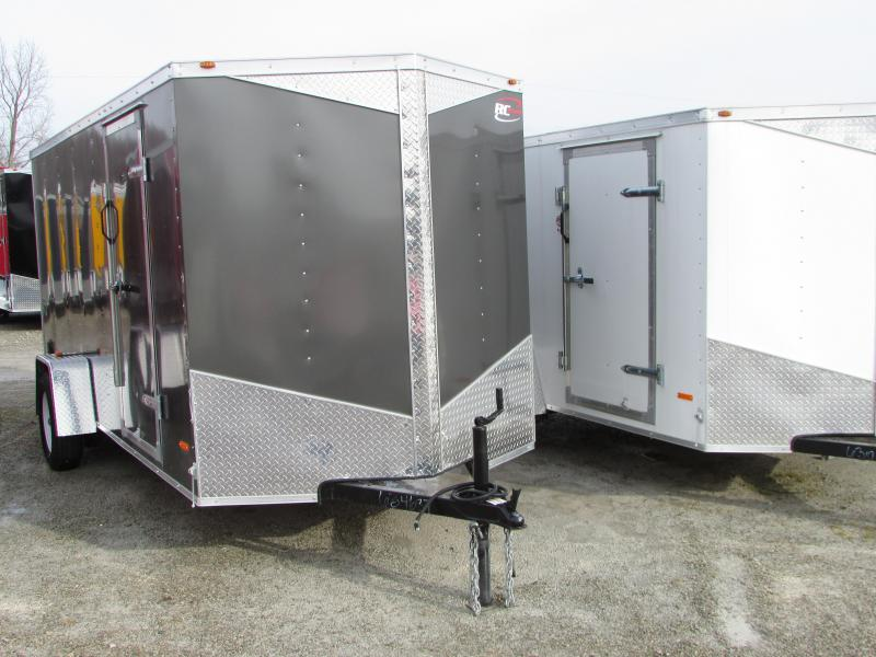 2018 RC Trailers 6 x 14 Ramp Enclosed Cargo Trailer