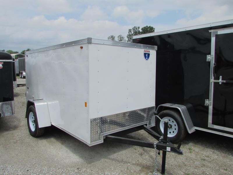 2019 Interstate 5 x 8 Enclosed Cargo Trailer