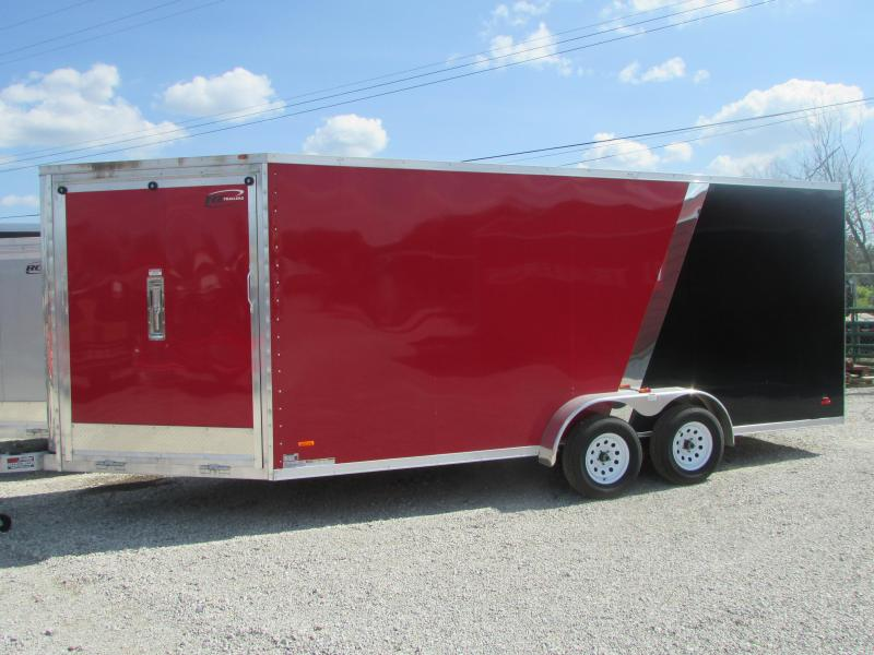 2018 RC Trailers 7 X 23 Snowmobile 7' High Enclosed Cargo Trailer