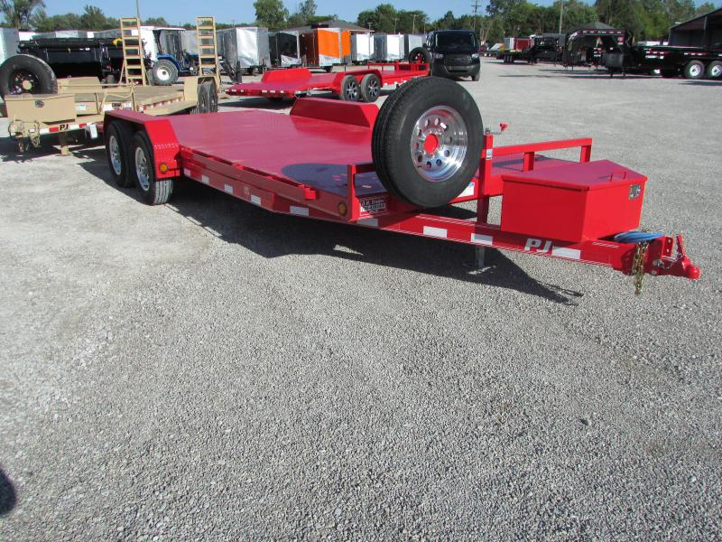 2017 PJ Trailers 20 Steel Deck Flatbed Trailer