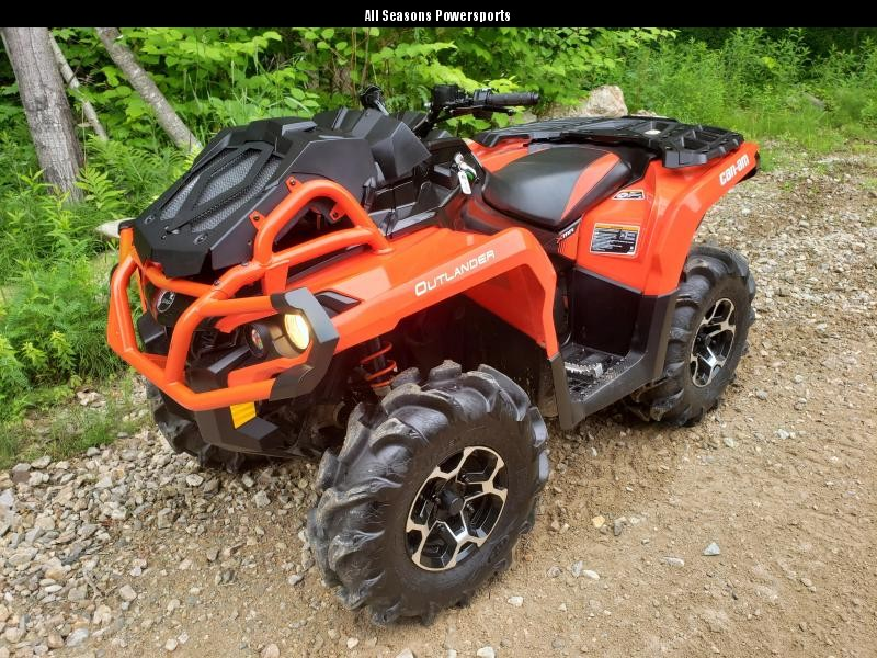 2018 Can Am Outlander 650 XMR