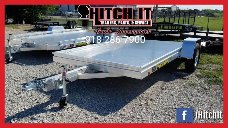 2017 ALUMA 77 X 12 UTILITY TRAILER HEAVY 3500# SLIDE IN RAMPS 7712HSLR