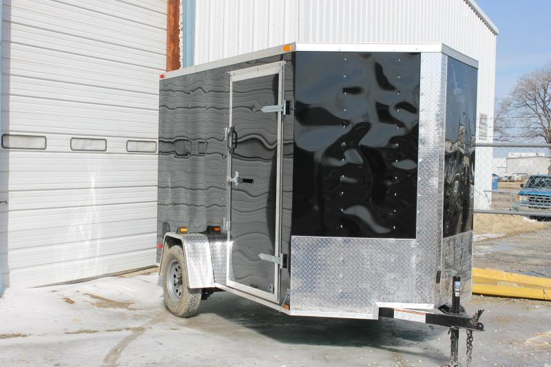 2017 Lark 6 x12 Enclosed Cargo Trailer V-nose