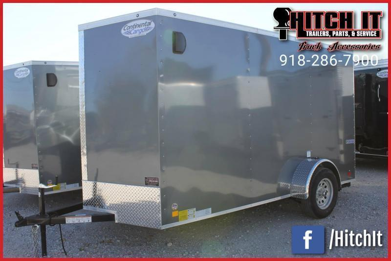 2020 Continental Cargo 6 X 10 + v-nose  Enclosed Cargo Trailer