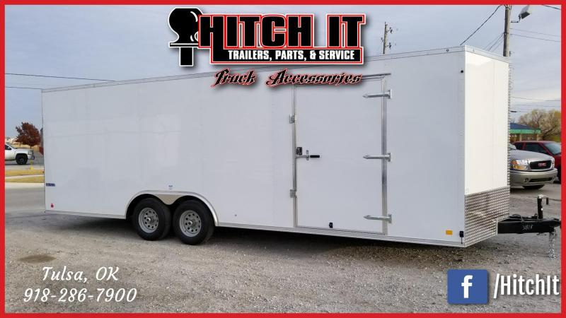 Continental Cargo 8.5X24 Enclosed Cargo Trailer Tandem 5200#