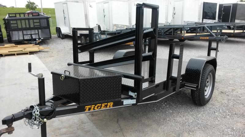 4 x 8 Black Welding Trailer