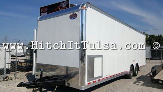 ONLY United Dealer in OK! 2017 United Trailers 8.5 X 28 SUPERHAULER UNITED Car / Racing Trailer