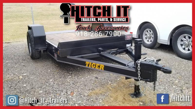 NEW Tiger 5 x 10 Tilt Utility Trailer PERFECT FOR SCISSOR LIFT