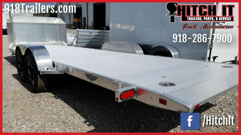2017 Aluma 82 x 20 Alum HEAVY Tilt Car Hauler 25th Ann. Edition