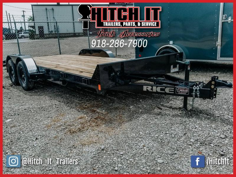 Rice 82 x 18 Magnum 7k Car Hauler Powder Coated