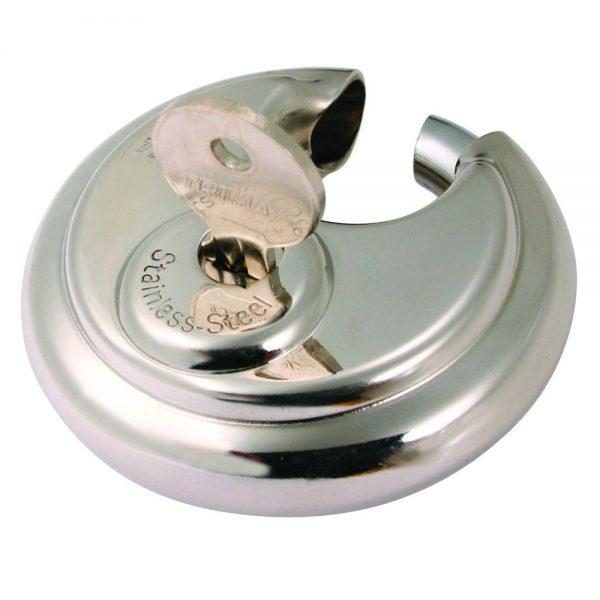 TRIMAX TRP170 10mm Shackle - Stainless Steel 70mm Round Padlock  Bicycle Locks Padlocks (Door Locks) TRAILER AND TOW