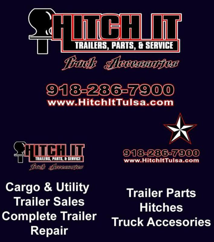 "REFLECTIVE TAPE CONSPICUITY TAPE 6"" RED & WHITE TULSA OK @ HITCH IT TRAILERS"