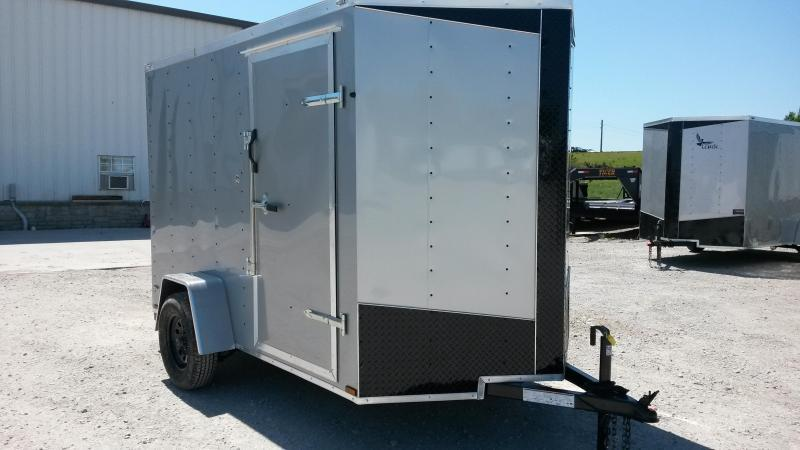 Lark 6x10 V-Nose Enclosed Cargo Trailer