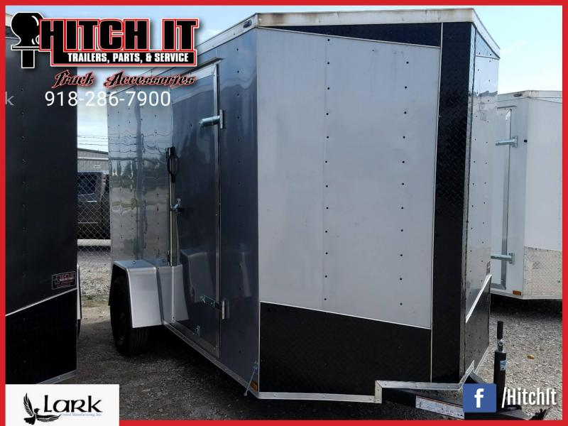 Lark 6x10 V-Nose Enclosed Cargo Trailer