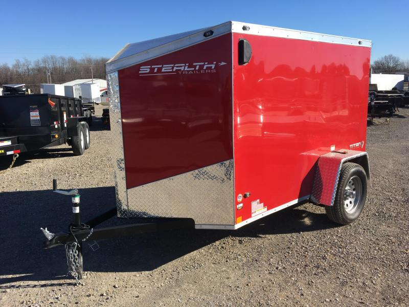 2018 Stealth Titan 5X8 Enclosed Cargo Trailer