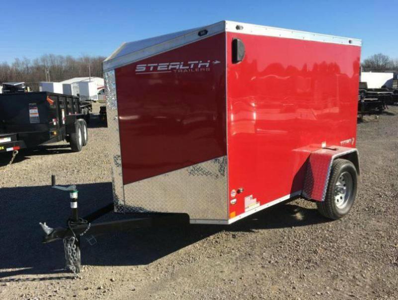 2018 Stealth Titan 5X8 Enclosed Cargo Trailer