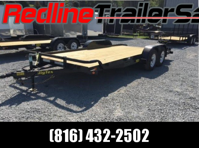 ** FALL SPECIAL ** 2017 Big Tex 18' Car Trailer 7000 GVWR
