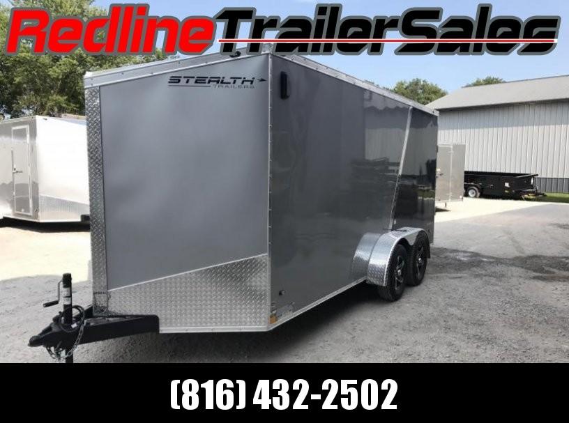 "2018 Stealth Titan 7X16 Enclosed Cargo Trailer ** 6'6"" Interior Height **"