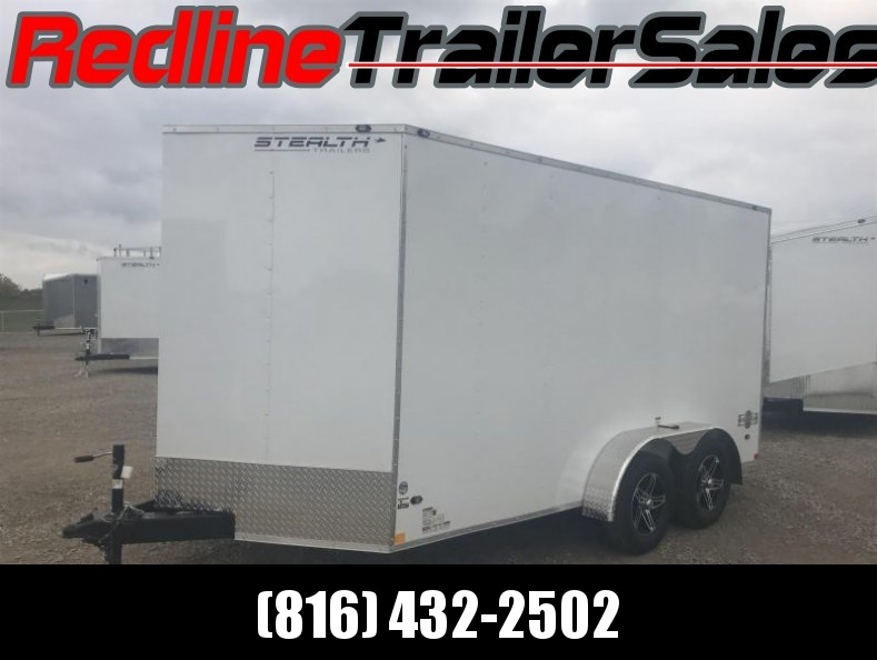 2018 Stealth Mustang 7X14 Enclosed Cargo Trailer