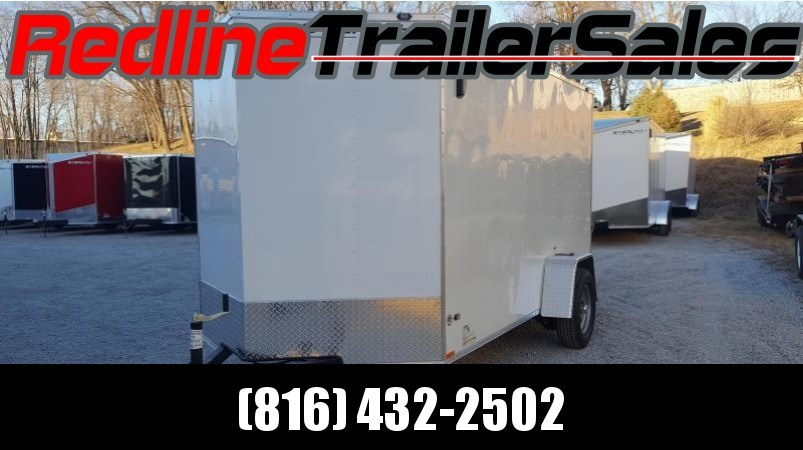 2018 Stealth Mustang Enclosed Cargo Trailer 6x12 - Ramp Door