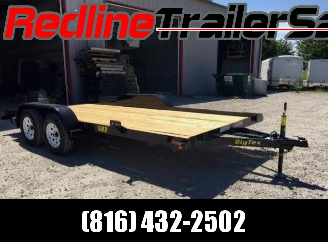 ** FALL SPECIAL ** 2018 16' Big Tex Flatbed Trailer
