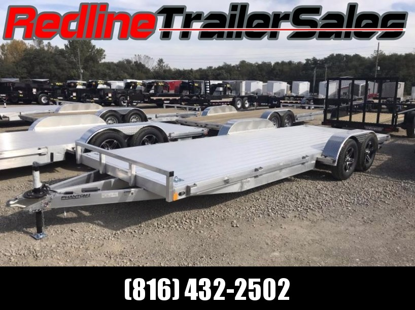 *FALL SPECIAL* 2018 Stealth Phantom 7 x 20 ALL ALUMINUM Flatbed Trailer