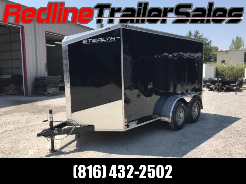 2018 Stealth Titan 6X12 Enclosed Cargo Trailer ** Tandem Axle **