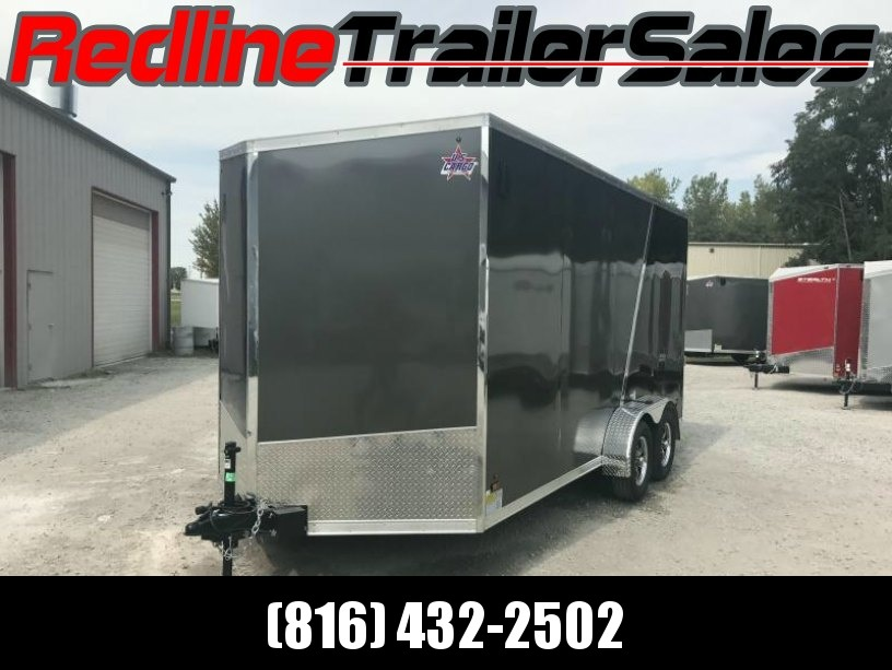 2018 US Cargo 7X16 Enclosed Cargo Trailer * 7' Interior Height * - Finished Interior
