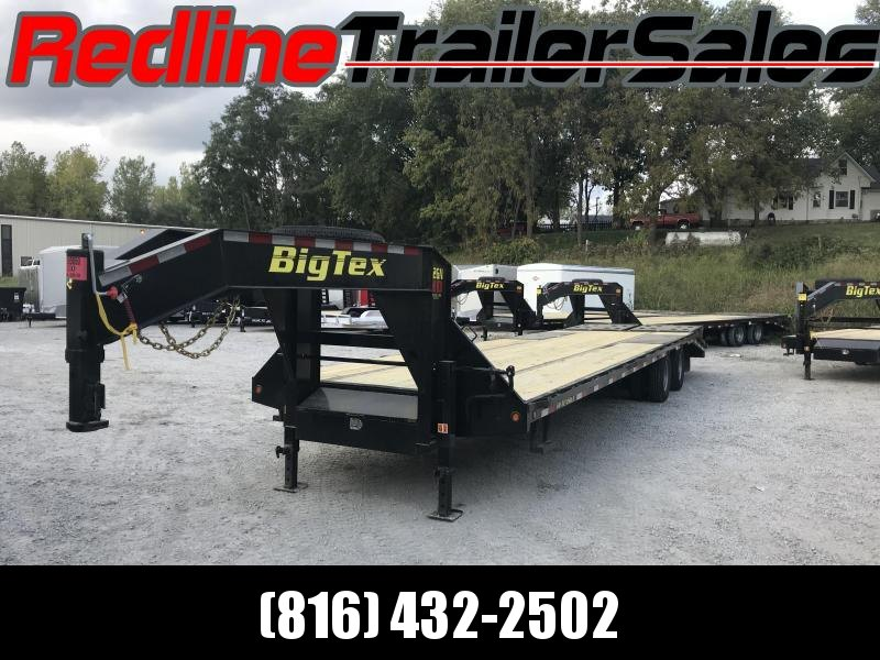 2018 Big Tex Trailer 28+5 Gooseneck Equipment Trailer 23900 GVWR - NEW YEAR SALE
