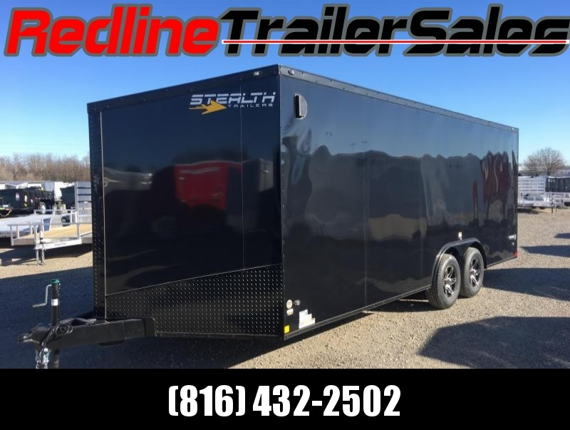 2018 Stealth Titan 8.5X20 Enclosed Cargo Trailer - *BLACKOUT PACKAGE*