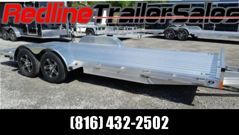 ** FALL SPECIAL ** 2018 Stealth Trailer 7 x 18 ALL ALUMINUM Flatbed Trailer