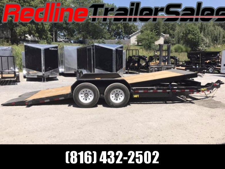 "2017 Big Tex 80""X20 Tilt Flatbed Trailer ** Full Gravity Tilt **"