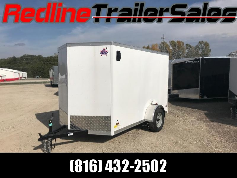 2018 US Cargo 6X10 Enclosed Cargo Trailer