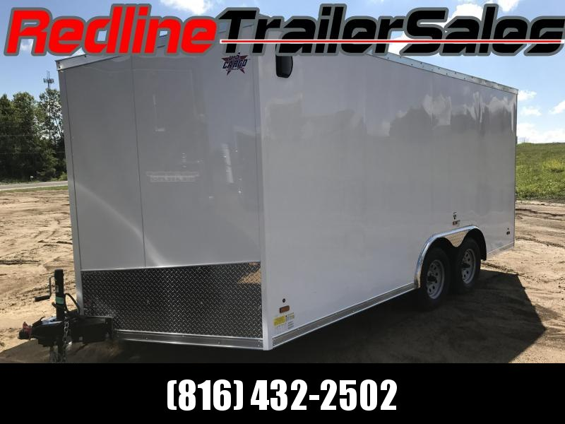 2018 US Cargo 8.5 X 16 Enclosed Cargo Trailer