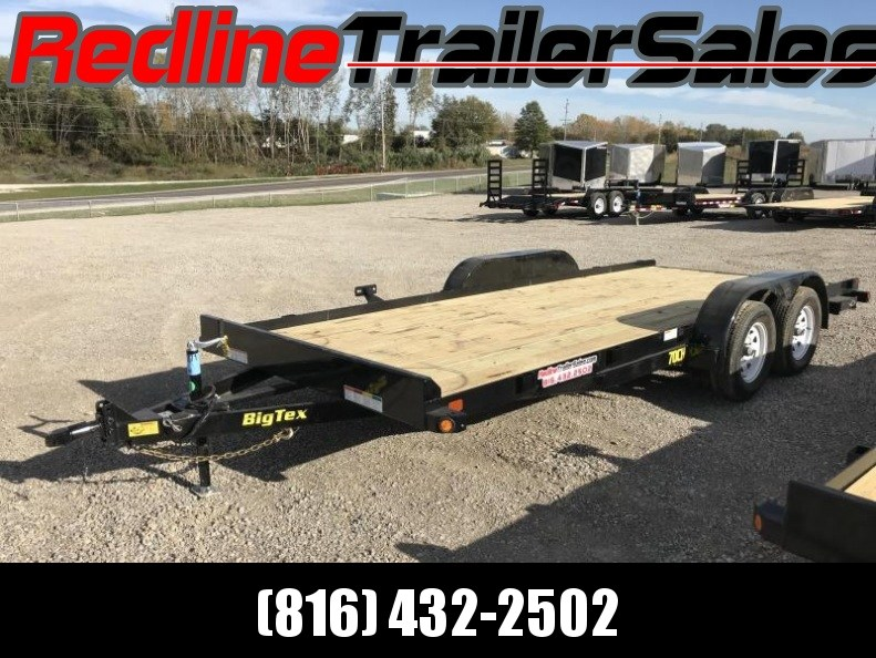 2018 Big Tex 18' Car Trailer 7000 GVWR