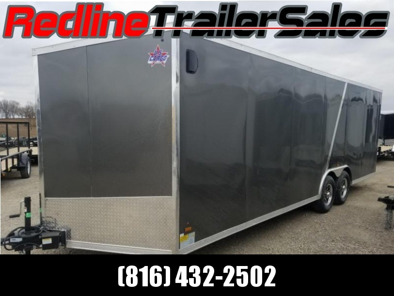 2018 US Cargo 8.5x24 Enclosed Cargo Trailer