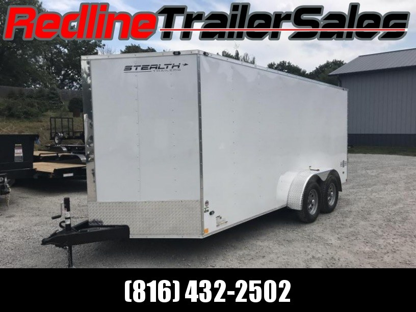 2018 Stealth Mustang 7X16 Enclosed Cargo Trailer
