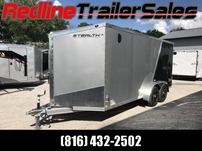**Aluminum**2018 Stealth Cobra 7X16 Enclosed Cargo Trailer