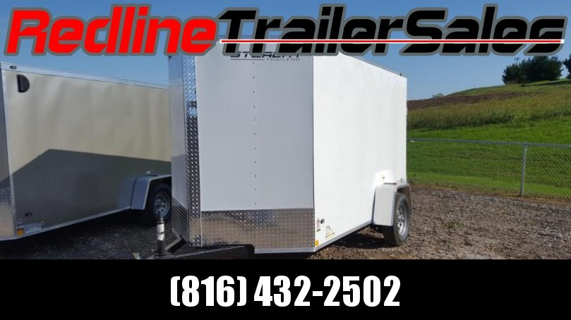 2018 Stealth Mustang 6 x 10 Enclosed Cargo Trailer