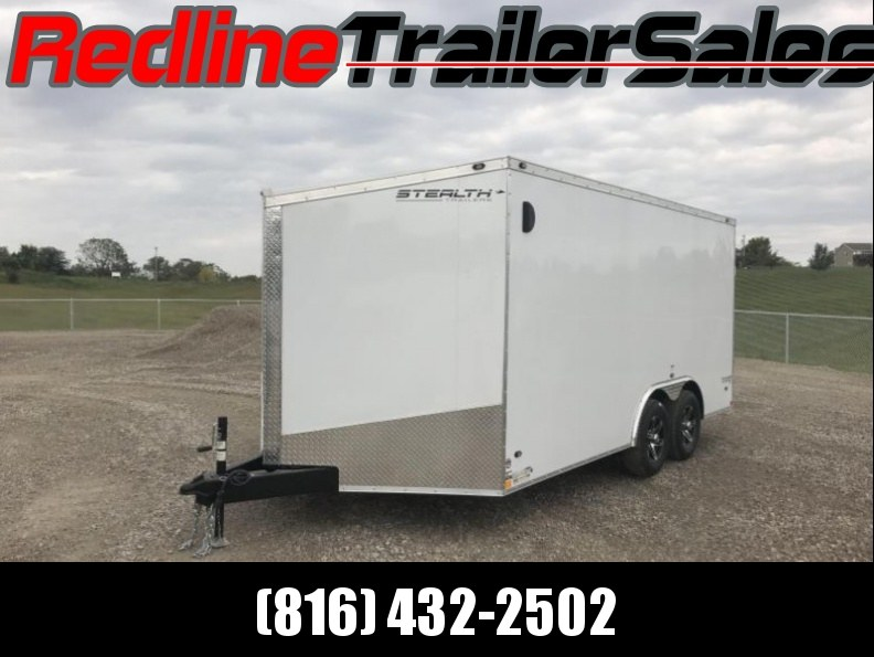 2018 Stealth Titan 8.5 X 16 Enclosed Cargo Trailer