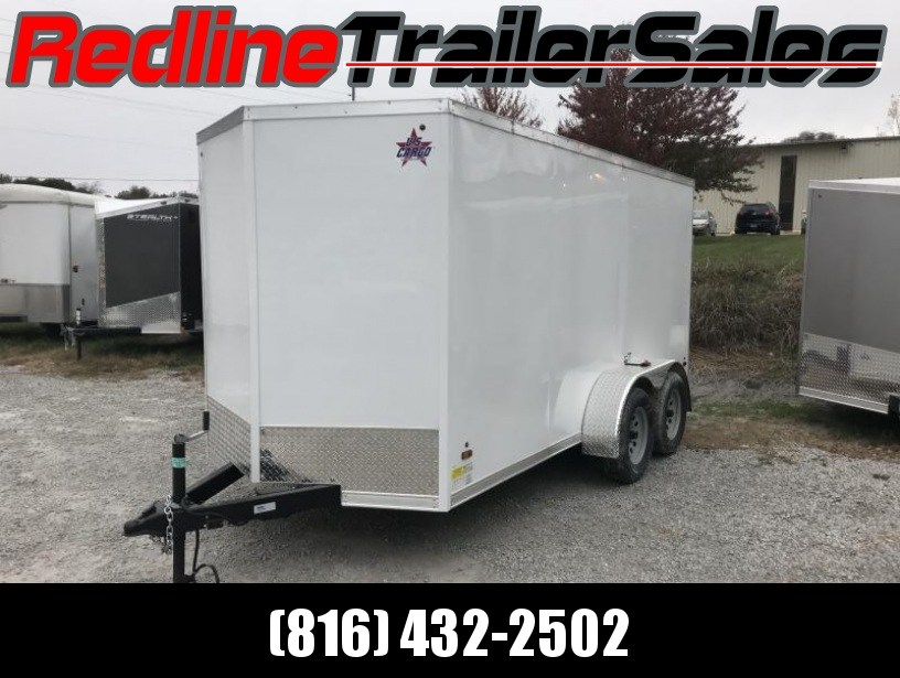 2018 US Cargo 6X14 Enclosed Cargo Trailer