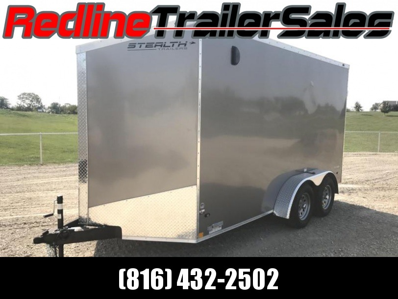 2018 Stealth Titan 7X14 Enclosed Trailer * 7' Interior Height *