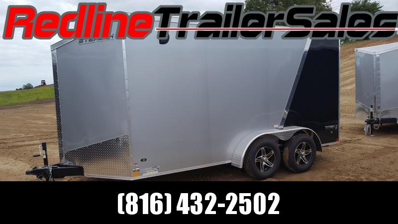 "2018 Stealth Titan 7X14 Enclosed Cargo Trailer ** 6'6"" Interior Height **"