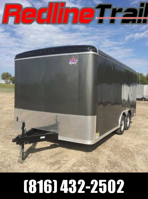 2018 US Cargo 8.5 X 16 Patriot Enclosed Cargo Trailer