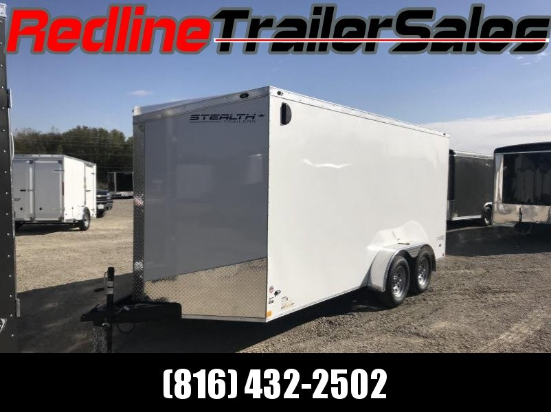 "2018 Stealth Titan 7X16 Enclosed Cargo Trailer ** 6'6"" Interior Height **"